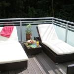 balkon liegen